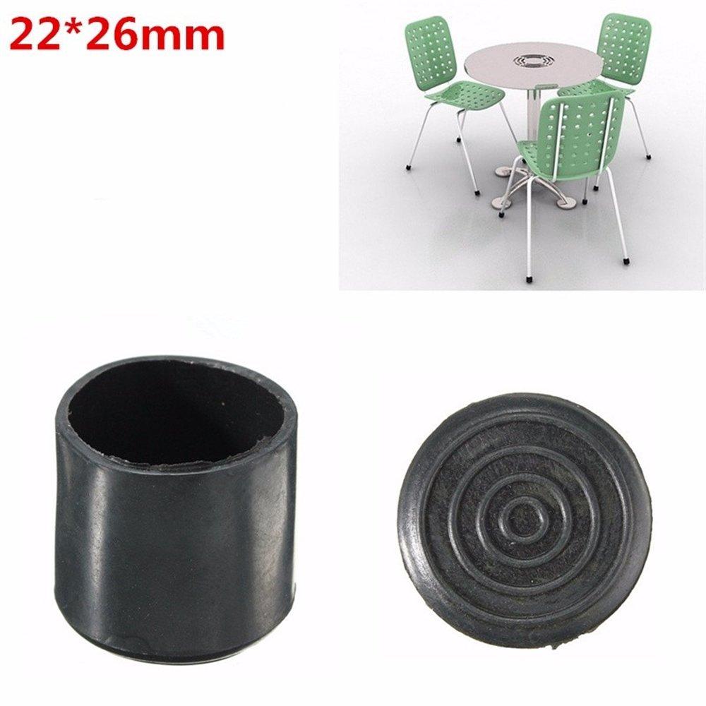 4pcs//set Rubber Chair Ferrule Anti Scratch Furniture Feet Leg Floor Protector C