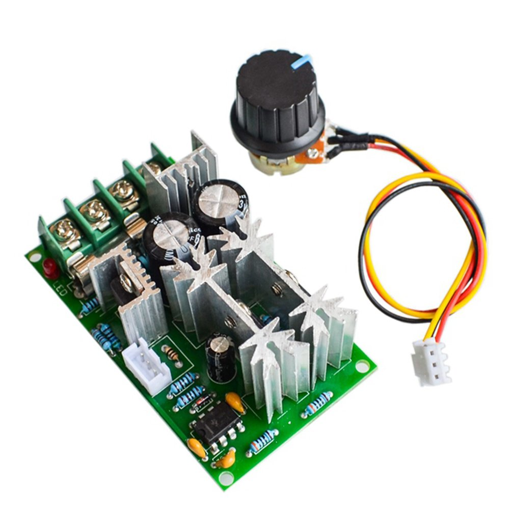 Air Conditioner Parts Home Appliances Reasonable High Power 40a Dc Motor Speed Regulator 9v-60v Pwm Universal Motor Drive