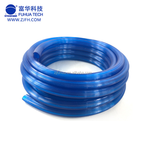 blue color PVC transparent clear level hose