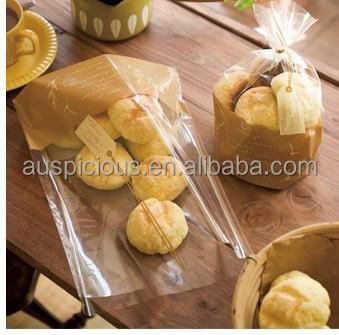 Plastic Bread Packaging Bag/transparent Food Packaging Bag/cookies ...