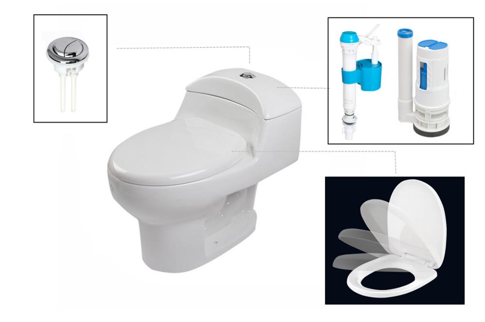 Elegant toilet plaatsen verzameling van toilet stijl toilet