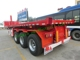 Factory price 20ft Dump container trailer