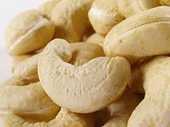 Raw and Semi-processed cashew nuts
