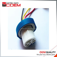 9004A ceramic three wire socket with wire 3 hole female socket Automotive connector Automobile connector with terminal