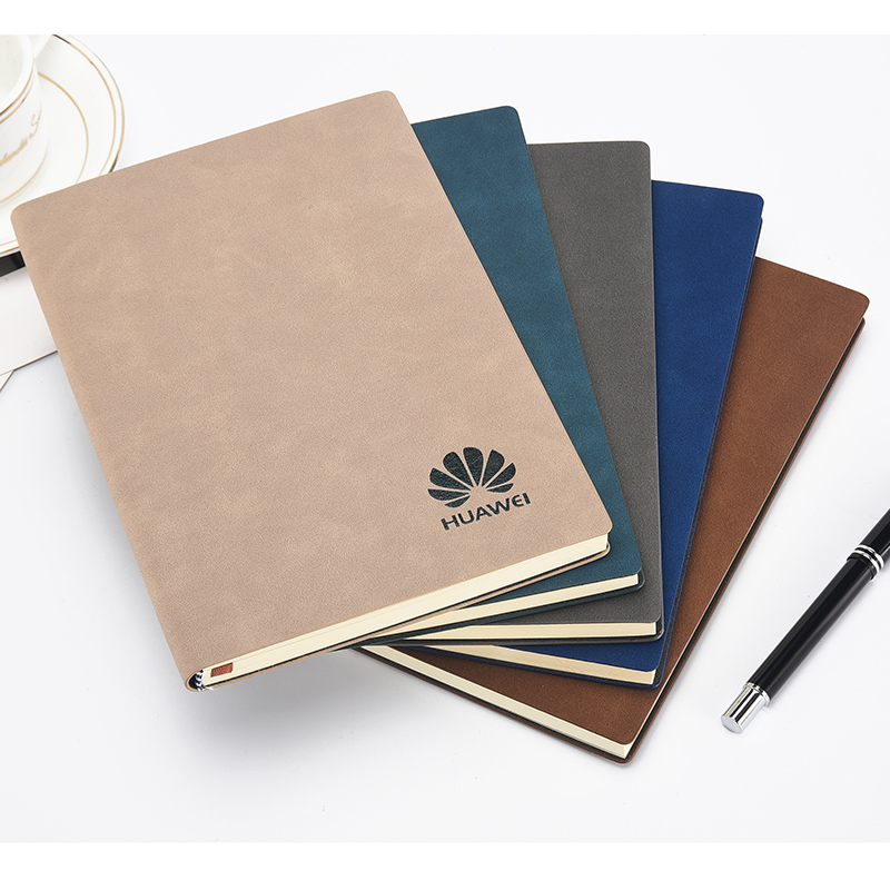 2018 hot high end customization gift office a5 custom notebook with pen/paper box/paper bag for school/company/government