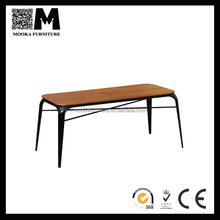 European style vintage metal table industrial dining table