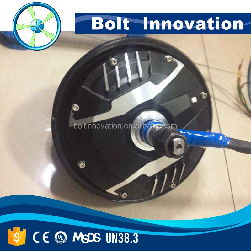 3KW to 20KW electric car hub in-wheel motor for sale