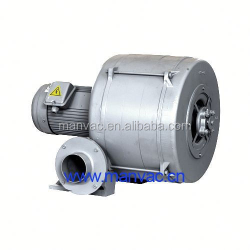 continuous flow of air or gas, centrifugal blowers