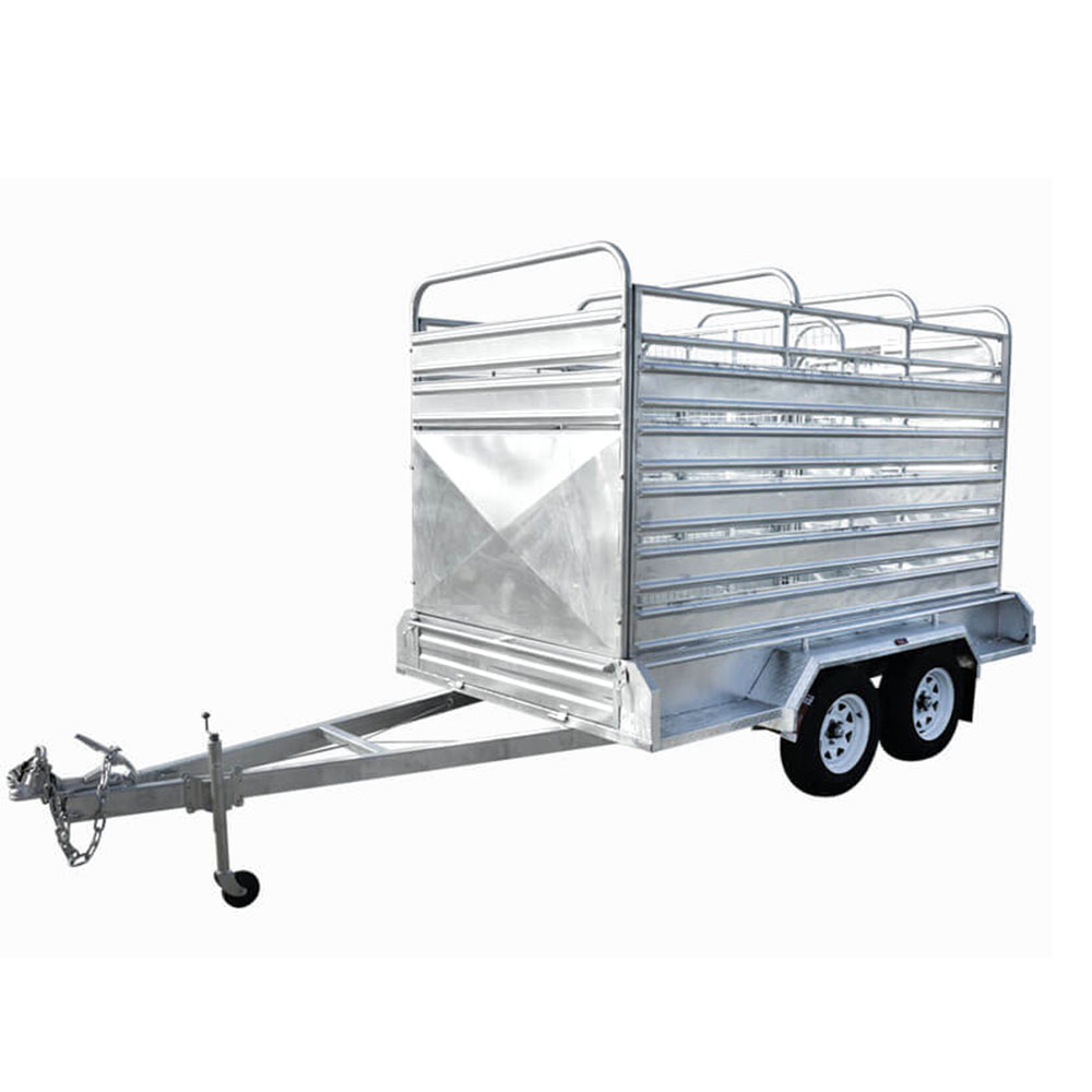 Hot Dipped Galvanized  Boat Trailer  for Aluminum boat
