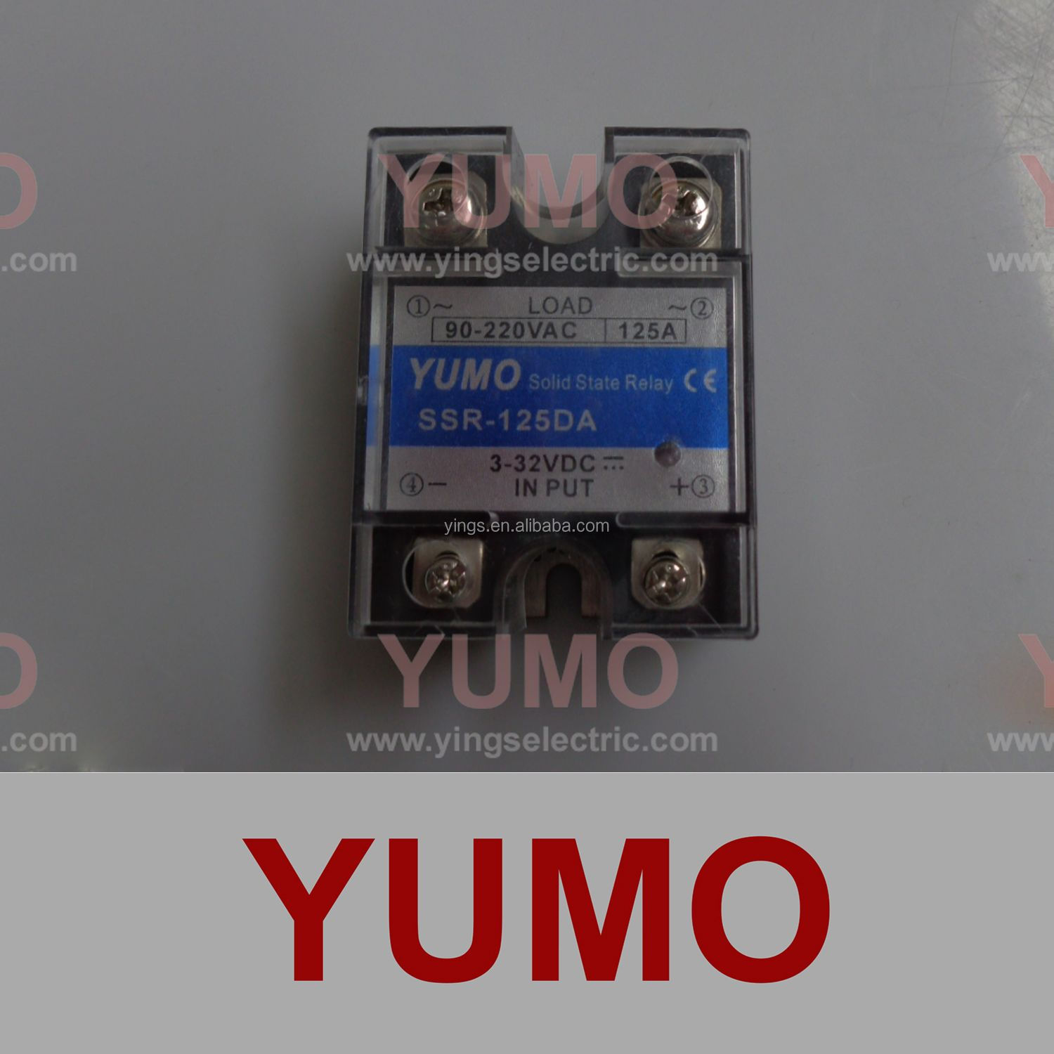 Ssr 125da Yumo Solid State Relay Buy Relaysolid Product On Basic Of