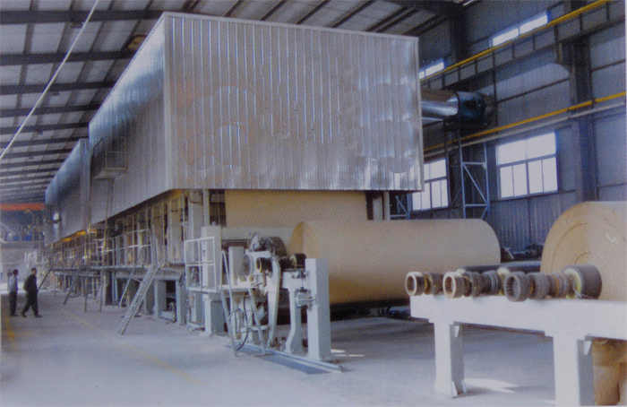 corrugated paper making machine