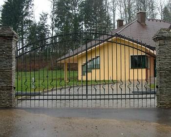 Cancello Esterno Moderno : Metal moderno giardino cancello e design moderno cancello