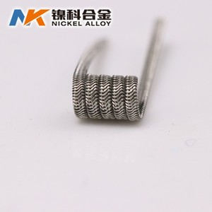 Alibaba China fused alien clapton wire A1 SS316l stainless steel vape coils