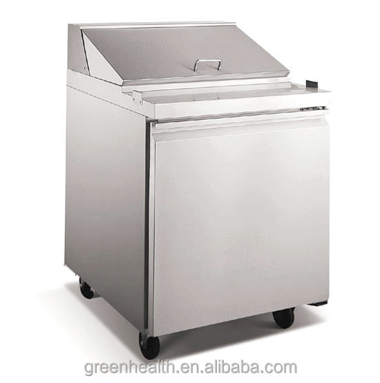 Salad Display Refrigerator for Kitchen Equipment Used Restaurant Catering Equipment for sale