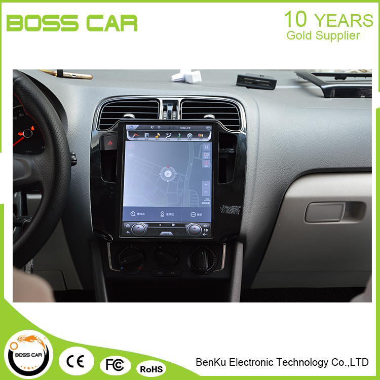 Bosscar 10 Inch Car Touch Screen Android Navigation For Vw Polo