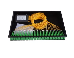 1*8 1*16 1*32 Port Rack Mount FTB Fiber Optical Cable Splitter Box 19 Inch Sliding PLC Splitter