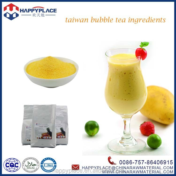 mango flavor powder for bubble tea, flavor powder for shakes, bubble tea powder