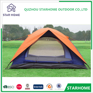 China supplier 1 - 2 person custom outdoor marquee with full line accessories camping tent