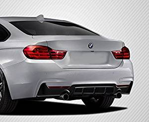 2014-2016 BMW 4 Series F32 Carbon Creations M Performance Look Rear Diffuser - 1 Piece