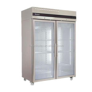 High Quality Commercial Used Glass Door Refrigerators In Germany