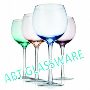 Classical handmade plastic disposable wine glass