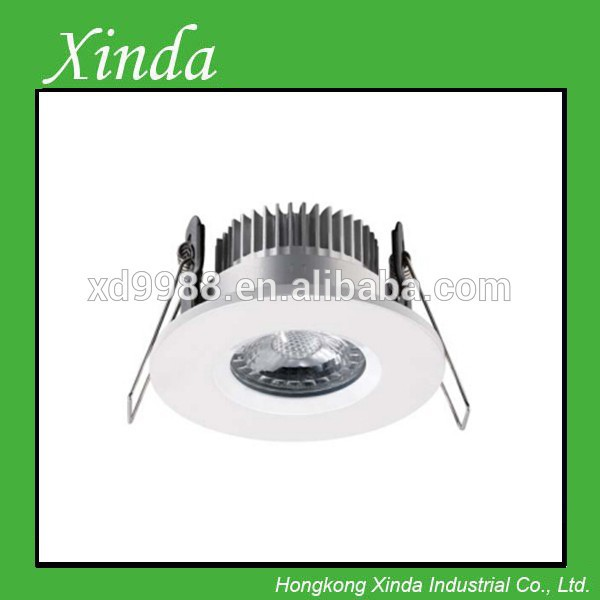 Dimmable COB Ip 65 LED downlights CRI>80 FOR 3 years warranty