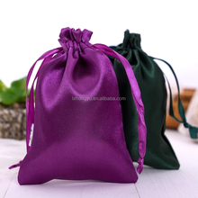 modern design double layers satin gift bag