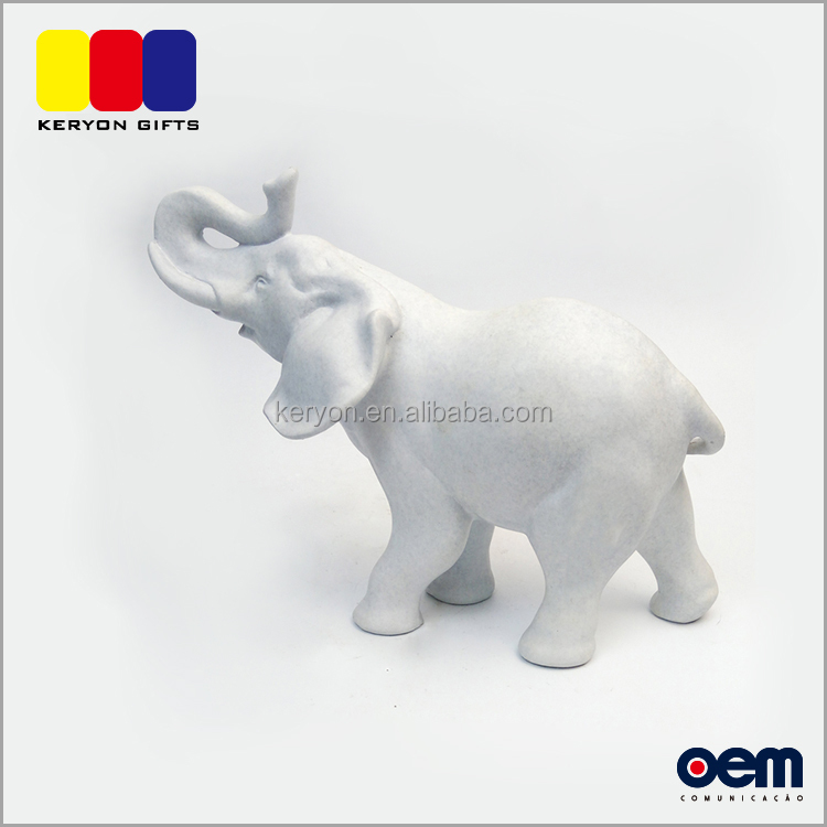 Handmade Resin Home Garden Decoration Thailand Souvenir Elephants