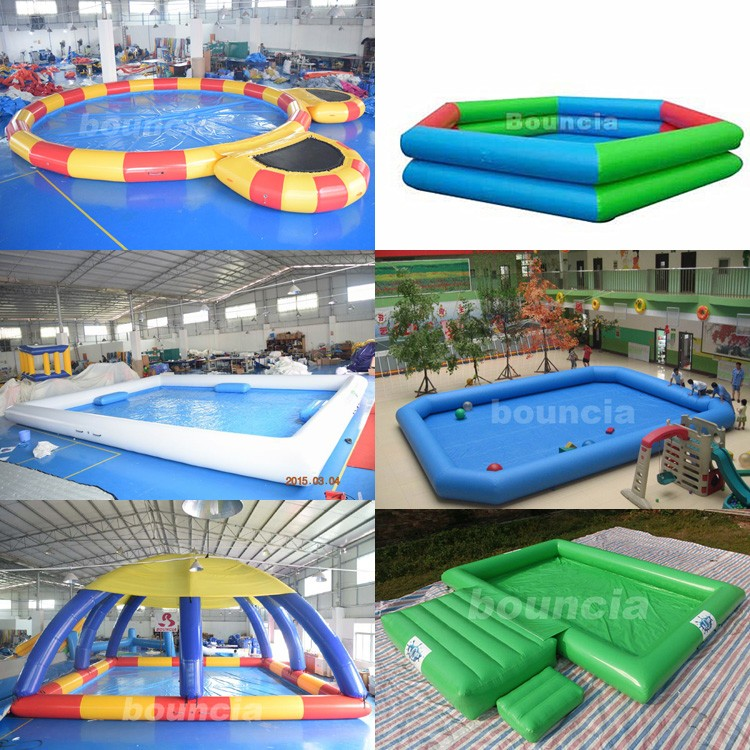 Durable Pvc Tarpaulin Activity Inflatable Water Pool For Water ...