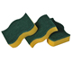 2017 Promotion Durable Kitchen Cleaning Non-abrasive Sponge Scouring Pad