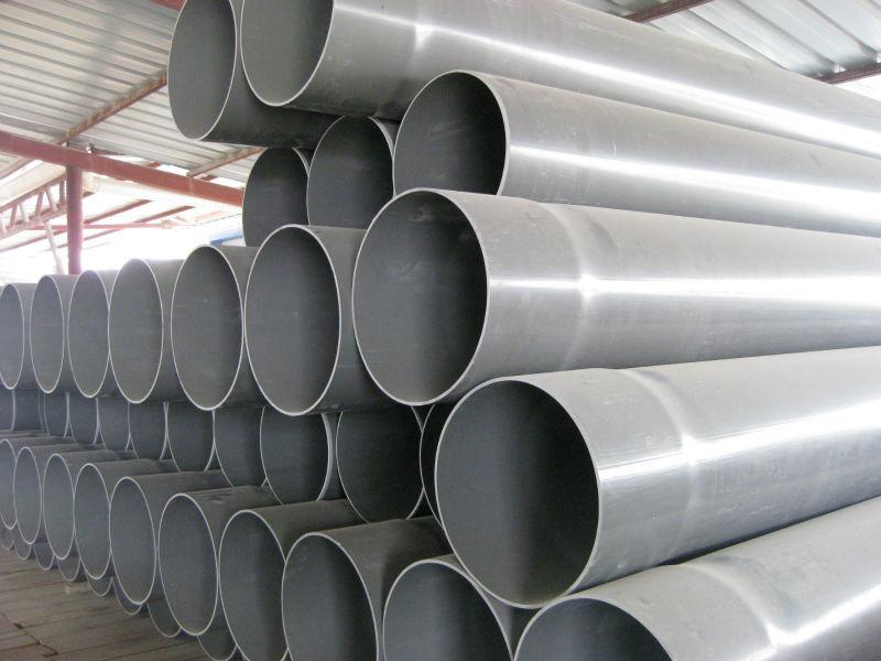 Tubo de pvc u de drenaje de agua de pvc tuber a para el - Precio tubo corrugado ...