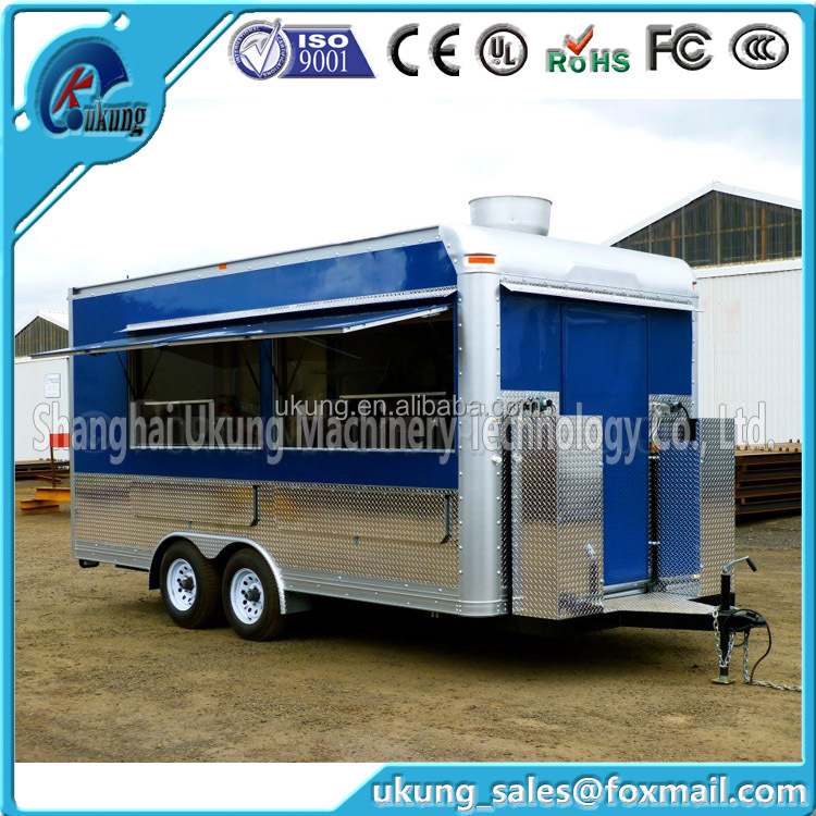 UKUNG FV-210 Mobile Food Trailer/coffee Vending Bicycle