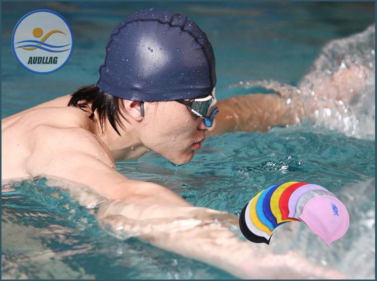 f81155e87 novos Designs Atacado Touca De natação de Silicone Óculos de Natação  Tampões de Ouvido Nariz Clipe Esportes Aquáticos Natação Equipamento