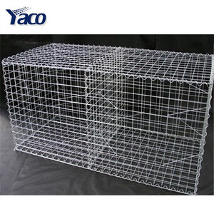 2m*1m*1m gabion box stone cage for retaining wall decorative wire mesh boxes