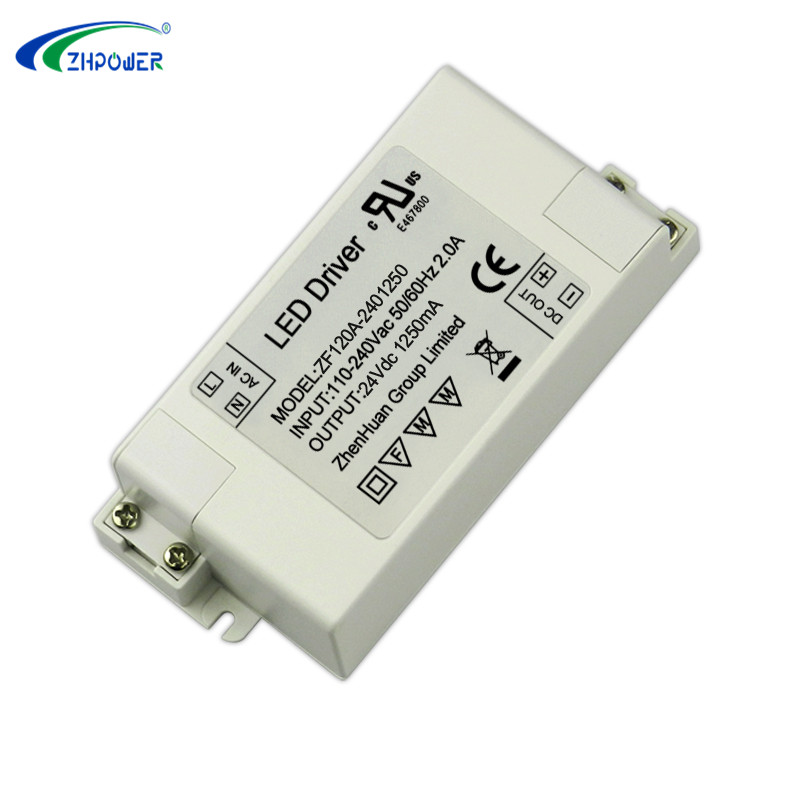 zf120a-2400750 led power driver 24V 0.75A 18W certified led driver