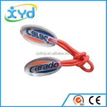 Brand new plastic zipper slider plastic zipper puller custom