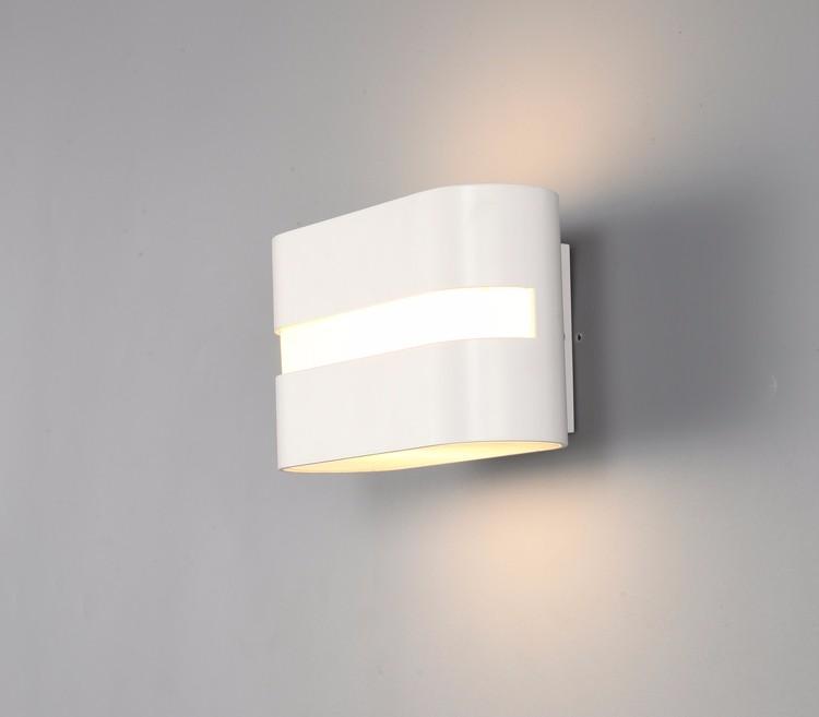 6 w led aluminium moderne wandlampen voor thuis woonkamer blaker