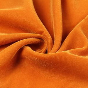 China factory export free sample dyed 100% polyester woven velvet 9000 fabric for dresses