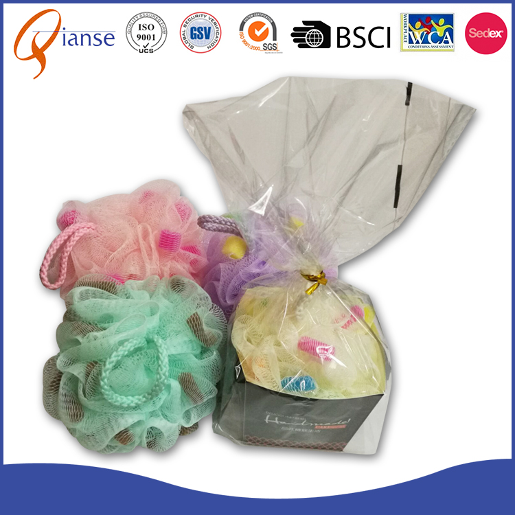 NEW ARRIVAL Shower Puff Ball with cake shape