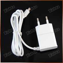 Mobile Phone Samsung Galaxy S2 S3 S4 2.1A Output EU Wall Charger With Cable