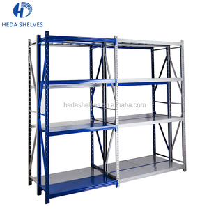 High Quality Adjustable Strong 4 Layer Medium Duty Warehouse Carpet Storage Rack