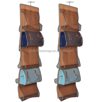Nonwoven Handbag Holder Hanging Purse Storage Organiser