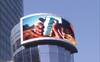 Hd video wall led screen display advertising P6mm Outdoor Full Color outdoor LED curtain for advertising