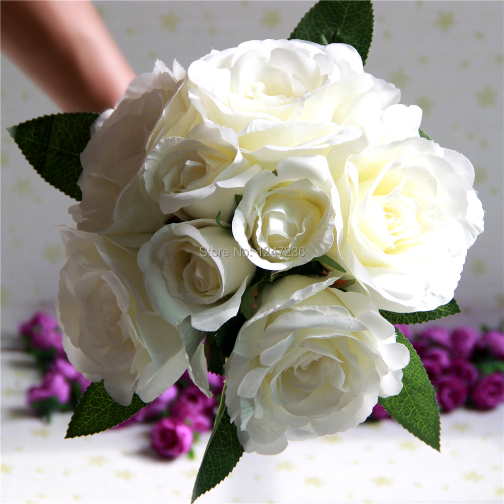 buy white roses bouquet flowers bouquets wedding bridal bouquet flower from. Black Bedroom Furniture Sets. Home Design Ideas