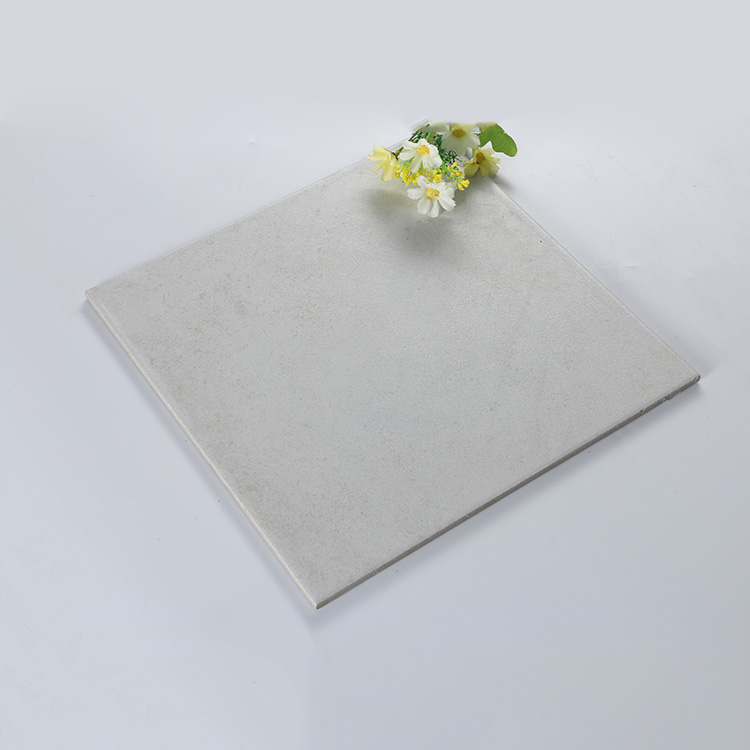 Factory wholesale easy clean matt finish porcelain floor tile double loading tiles