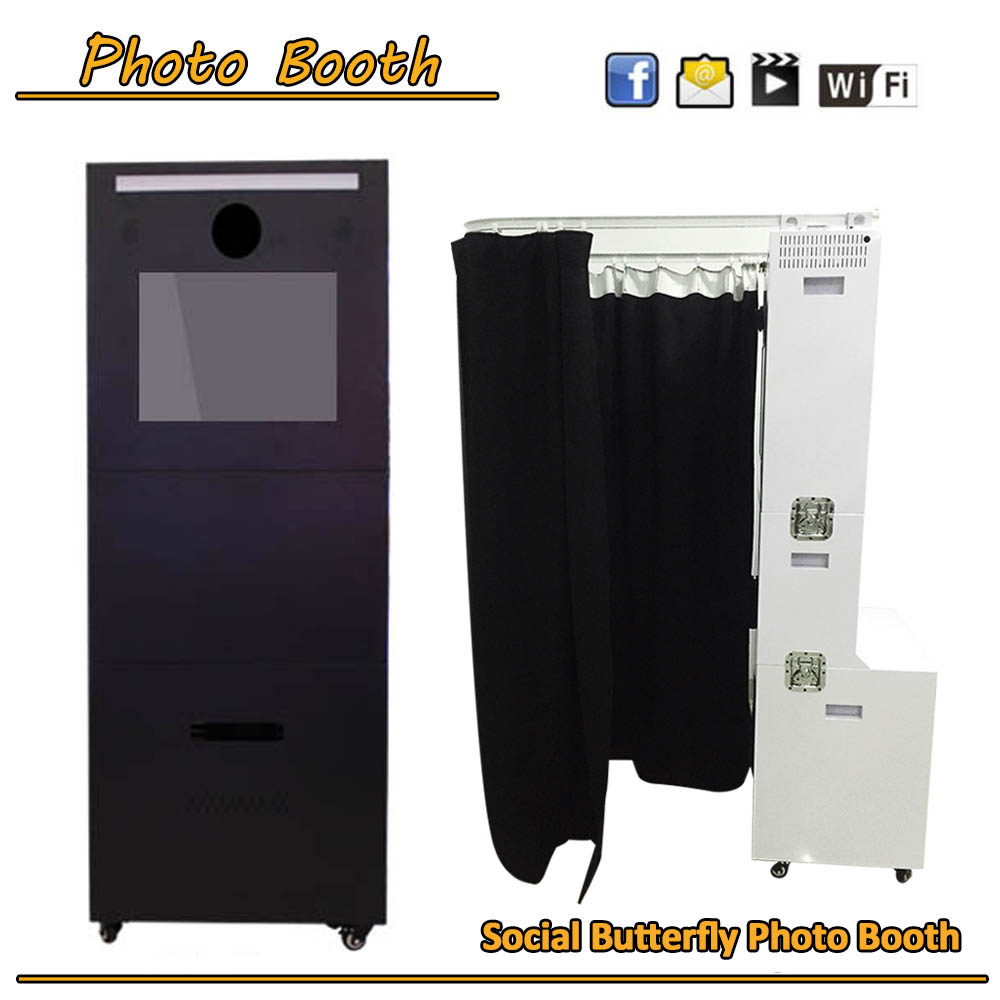 Portable Event photo booth /Wedding photo kiosk/purikura machine with software
