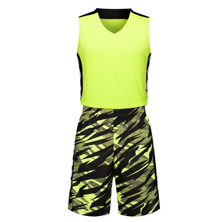 a281ff1f3 Sublimation Reversible Custom camo basketball uniform Basketball Jersey