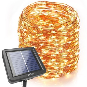 Outdoor New Design Solar Powered String Light Twinkle Led Christmas String