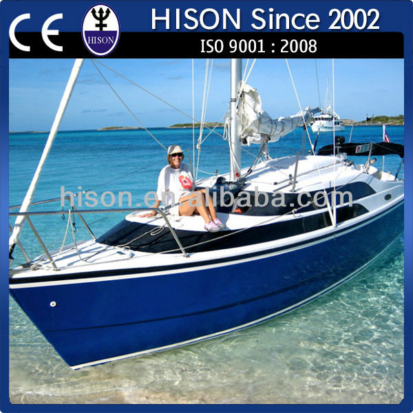 China leading PWC brand Hison comfortable standarded sailboat