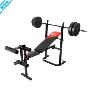 SJ-7839 Cheap price Home Gym body building fitness equipment adjustable weight lifting bench with seated leg press